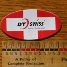 "3"" DT SWISS FLAG Red/White ROAD MOUNTAIN BIKE BICYCLE STICKER DECAL A-1"