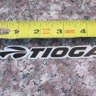 TIOGA Black  International Bike Bicycle Mountain -  STICKER DECAL (A13)