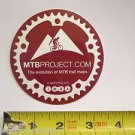 "ONE - 3"" MTB Project IMBA  Bike Mountain Bicycle Ride STICKER DECAL (RBRC)"