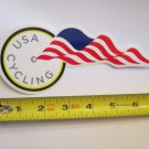 """ONE - 7"""" USA CYCLING Lance  Bike Mountain Bicycle Ride STICKER DECAL (RBRC)"""