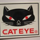 ONE - CATEYE Cat Eye   Bike Mountain Bicycle Ride STICKER DECAL (RBRB)