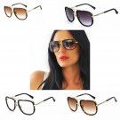 Sunglasses Brand Design Men Women Retro Vintage Big Frame Fashion Eyeglasses
