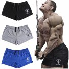 Shorts Gym Bodybuilding Running Training Fitness Mens Workout Sport Cotton Flex