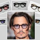 Sunglasses Vintage Johnny Depp Men Frame Retro Clear Fashion Glasses Tinted Lens