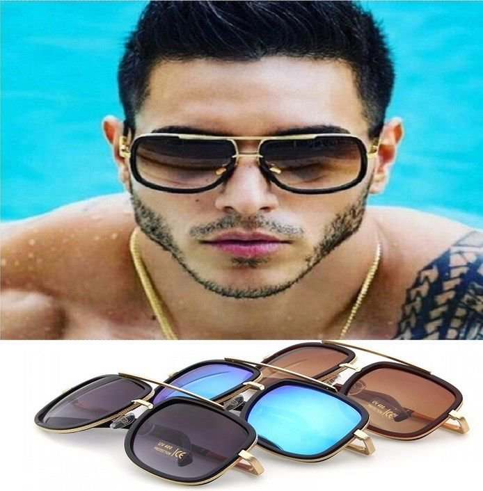 Sunglasses Men Fashion Polarized Luxury Square Brand Design Driving Women 2017
