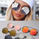 Oversized Big Round Mirror Eyewear Sunglasses Polarized Lens Celine Fashion 2017