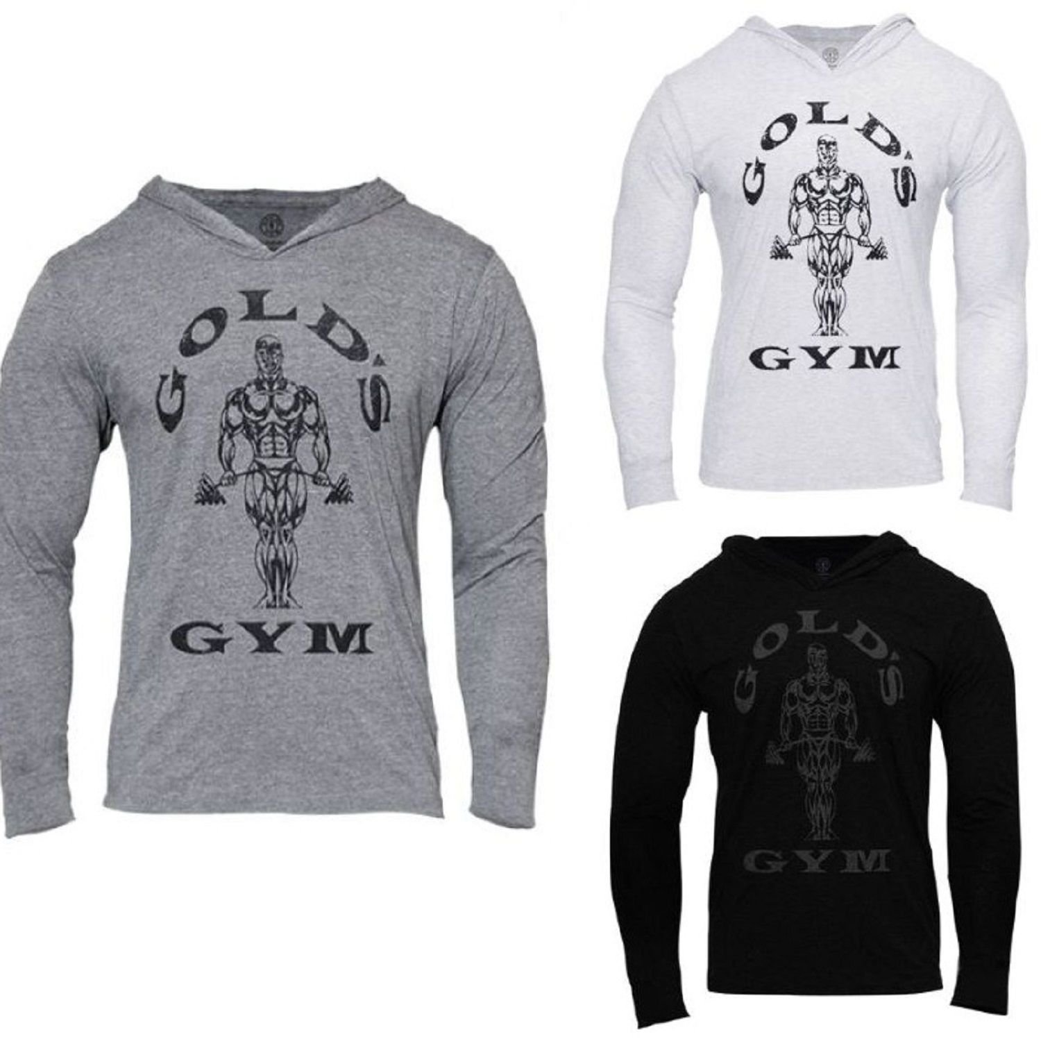 Bodybuilding Hoodies Mens Golds Gyms Long Sleeve Sweatshirts Workout Clothing