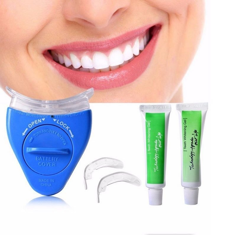 Dental Teeth Whitening Home Kit Tooth Professional Oral Gel Bright Smile White