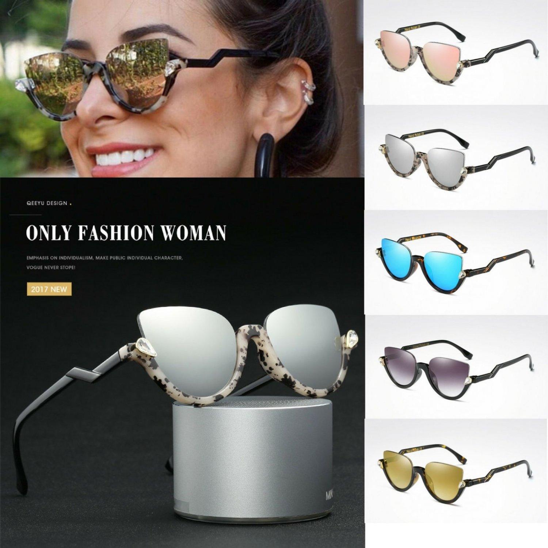 Fashion Clubmaster Half Frame Sunglasses Vintage Designer Retro Eyewear 2017