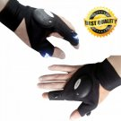 Fingerless Glove LED Flashlight Fishing Survival Repair Outdoor Hiking Camping