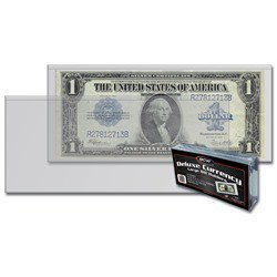 BCW Semi-Rigid Large Size Currency Holders