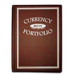 BCW Deluxe 30 Pocket Currency Album