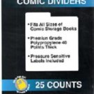 Collector Safe Comic Book Dividers