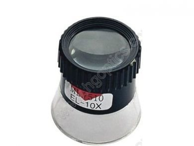 Photographer's Loupe With 10x Power lens