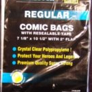 Regular Size Comic Bags w/Resealable Tape