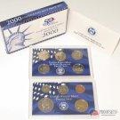 2000-S U.S. Mint Clad Proof Coin Set GEM Proof