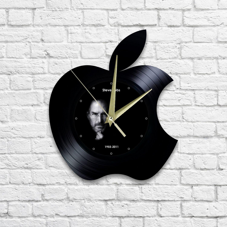 Apple (Steve Jobs) wall clock