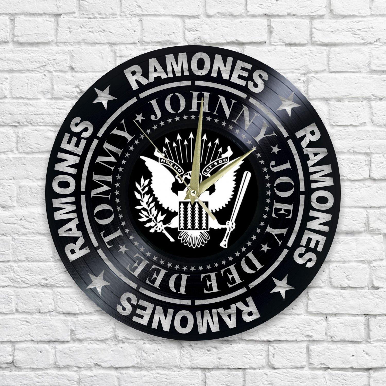 Ramones wall clock