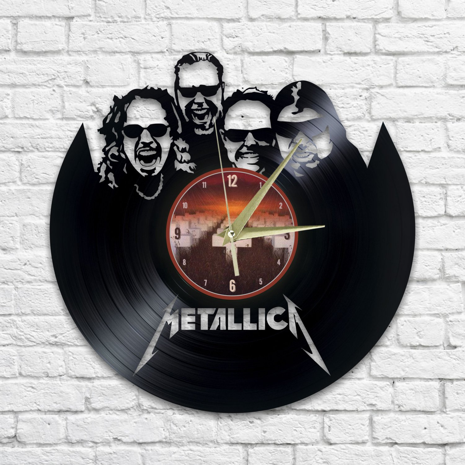 Metallica wall clock