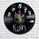 Korn vinyl wall clock - KOЯn