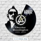 Linkin Park vinyl wall clock - Chester Bennington
