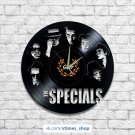 The Specials vinyl wall clock