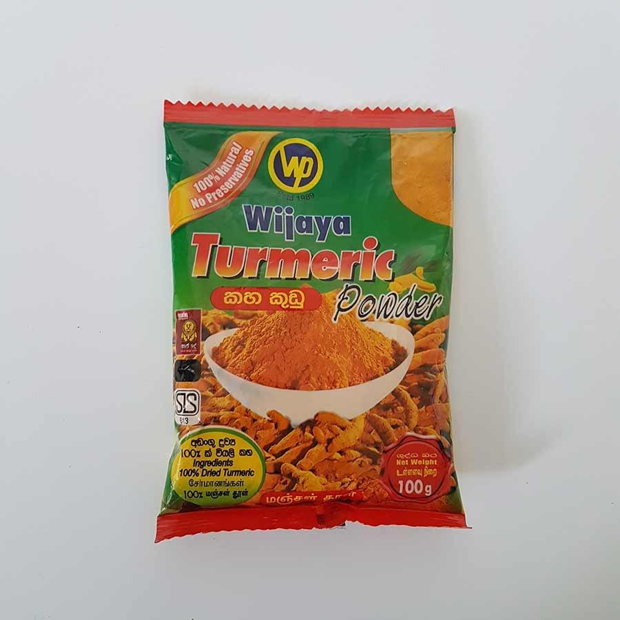 100g Wijaya Sri Lankan Turmeric Powder