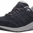 New Balance Suede 928v2 Navy Womens Sz 8B Stability Walking Shoes