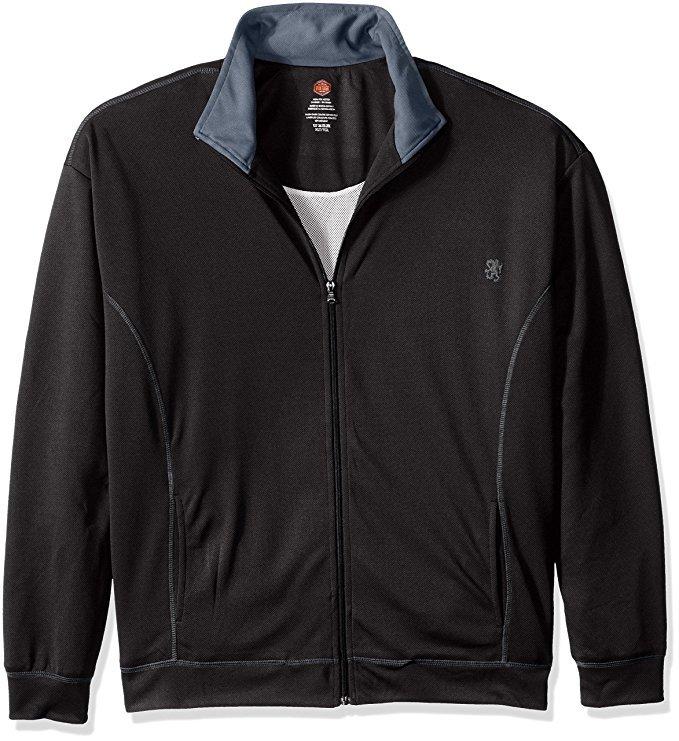 Vintage by Majestic International Men's Track Lined Jacket 6XL in Black