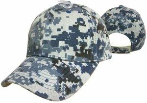 Blank NWU Camo Cap - Navy Working Uniform Camo