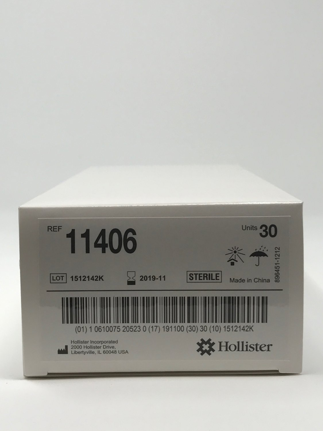 """360 Units Apogee IC by Hollister Urinary 6"""" Female straight tip catheter size: 14 FR"""
