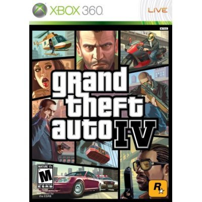 Grand Theft Auto IV - GTA 4 (Xbox 360)
