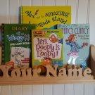 Personalized Bookshelf Unpainted