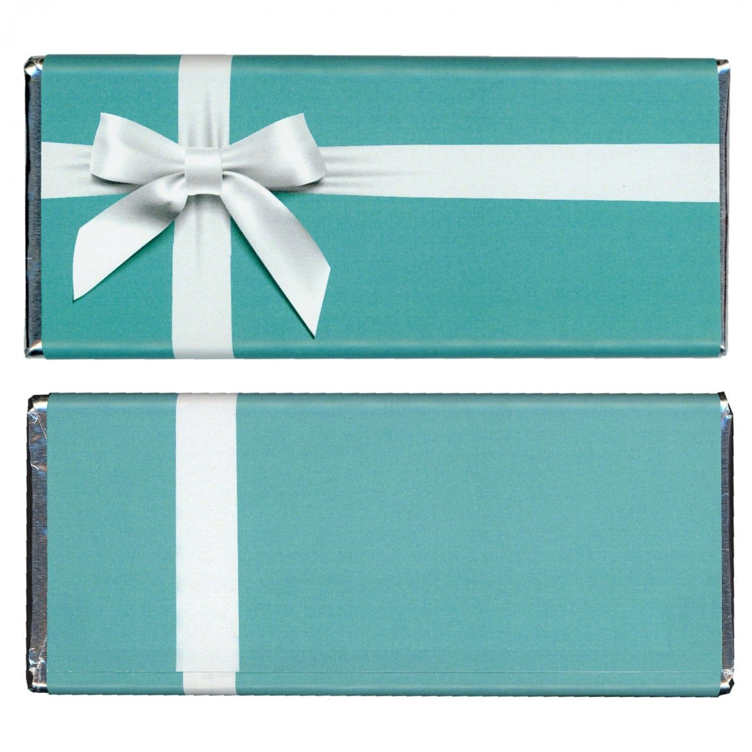 12 Tiffany & Co Birthday Hershey Candy Bar Wrappers Personalized Glossy Paper