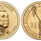 2007-D James Monroe Presidential Golden Dollar BU Coin Uncirculated