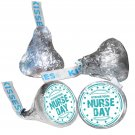 108 International Nurse Day Personalized Hershey Kiss Labels Stickers Kisses