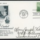 US #990 ARTCRAFT FDC Executive (White House) National Capital Sesquicentennial