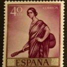 Spain - Scott Cat. #'s 1296 - 1305 Mint Hinged 1965 Julio Romero de Torres Issue
