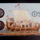 LEWIS & CLARK 2004 P 2004 D Keelboat Nickels SEALED SET w/ FDC from US MINT