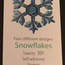 U.S. BOOKLET OF 20 SCOTT#BK303 2006 39ct CHRISTMAS SNOWFLAKES MINT P#S1111