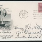 US FDC #1020 Louisiana Purchase, ArtCraft Lewis and Clark Thomas Jefferson