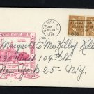 US # 805 on a Greater New York Golden Jubilee Special Cover & Cancel Jan 1, 1948