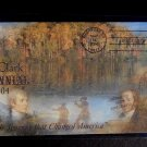 Scott# 3854 Lewis & Clark Special Cover. Washburn, ND, May 14, 2004 Postmark FDC