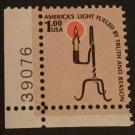Scott 1610 US Stamp 1979 $1 Rush Lamp Americana Series MH