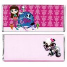 12 Littlest Pet Shop Birthday Hershey Candy Bar Wrappers Personalized Glossy