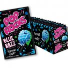 Pop Rocks Popping Candy Blue Razz Raspberry 24 Packs Feel the Fizz Free Shipping