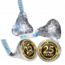 25th Birthday Party Supplies Hershey Kisses Kiss Labels Stickers Congratulations