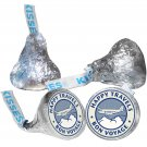 108 Bon Voyage Hershey Kiss Kisses Labels Stickers Summer Travel Airplane Trip