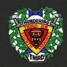 THUNDERING THIRD BATTALION 4TH MARINES USMC MILITARY PATCH SOLDIER WARRIOR USA