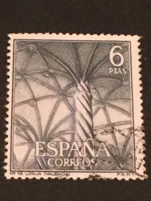 Spain - Mixed Lot Scott Cat. #'s 1280 - 1288 Tourism Issue 1965